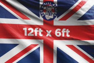 12ft x 6ft football flag ultras design logo