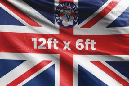 12ft x 6ft football flag ultras design logo