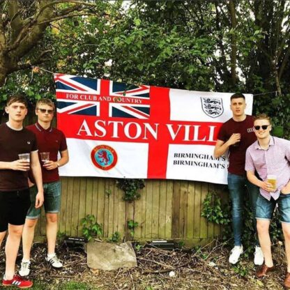 Custom Football Banners Aston Villa For Club and Country