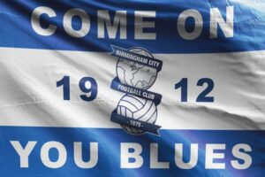 Birmingham City FC Flag 1912 Come on You Blues