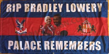 Bradley-Lowery-Crystal-Palace-FC-football-flag