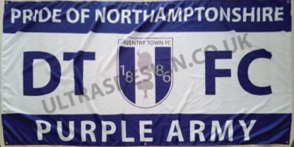 Daventry-Town-FC-Purple-Army-football-flag