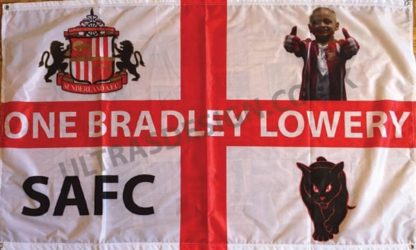 One-Bradley-Lowey-SAFC-football-flag