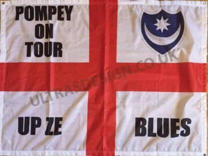 Portsmouth-FC-Pompey-on-tour-football-flag