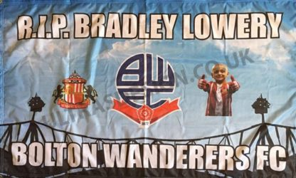 RIP-Bradley-Lowery-Bolton-Wanderers-FC-football-flag