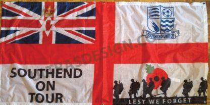 Southend-United-FC-on-tour-football-flag