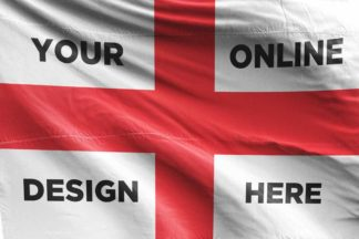 Design Online: Custom Designed Football Flag
