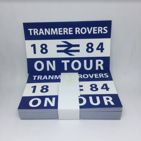 tranmere rovers fc stickers