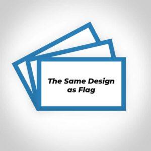 stickers the same design as flag