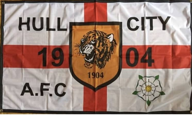 HULL CITY FLAG 1904 AFC