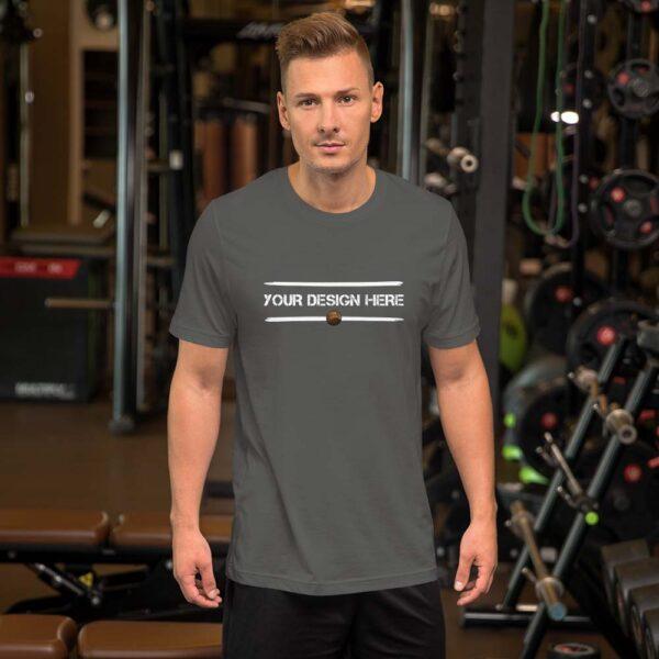 Gray-Blue-Custom-T-shirt-2