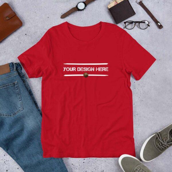 Red-Blue-Custom-T-shirt-3