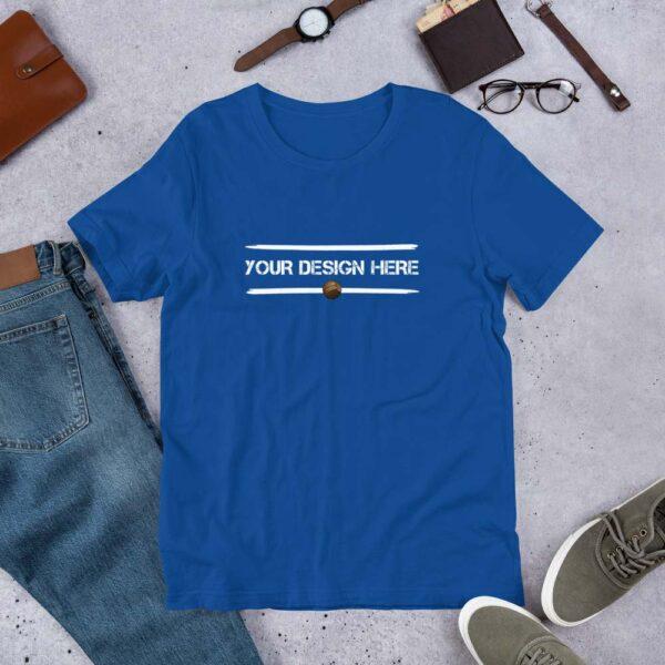 Royal-Blue-Custom-T-shirt-3