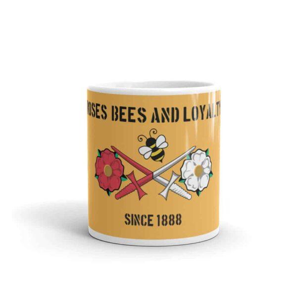 Roses, Bees and Loyalty Since 1888: Barnet FC Mug