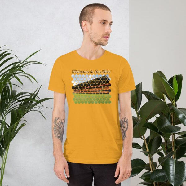 Welcome to the Hive: Barnet FC Yellow T-Shirt