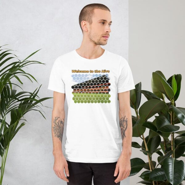 Welcome to the Hive: Barnet FC White T-Shirt