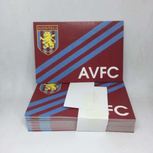 AVFC Three Stripes: Aston Villa FC Stickers