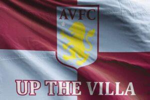 Up the Villa AVFC: Aston Villa FC Flag