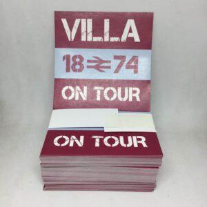 Villa on Tour: Aston Villa FC Stickers