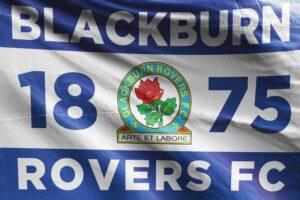 1875 Blackburn Rovers FC Flag