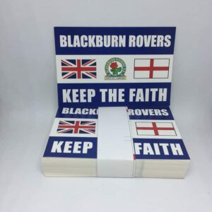 Keep the Faith: Blackburn Rovers FC Stickers