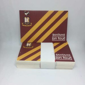 Bantams on Tour: Bradford City AFC Stickers