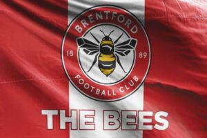The Bees: Brentford FC Flag