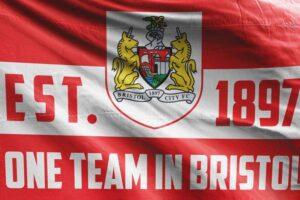 One Team in Bristol: Bristol City FC Flag