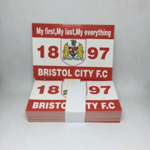 My First, My Last, My Everything: Bristol City FC Stickers