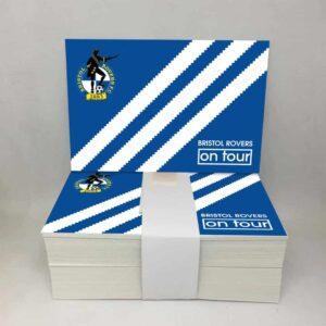Bristol on Tour Three Stripes: Bristol Rovers FC Stickers