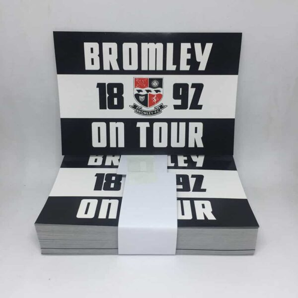 Bromley FC On Tour Stickers