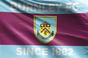 Burnley FC Since 1882 Flag