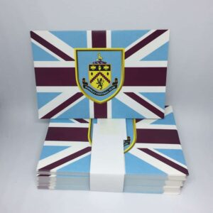 Burnley FC Union Jack Stickers