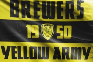 Brewers Yellow Army: Burton Albion FC Flag
