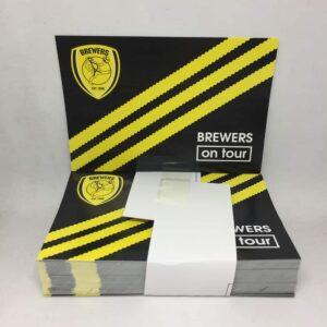 Brewers on Tour Three Stripes: Burton Albion FC Stickers