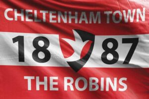The Robins: Cheltenham Town FC Flag