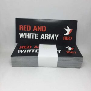 Cheltenham Town FC Stickers: Red and White Army 1887
