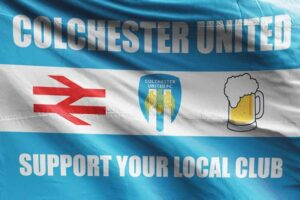 Support Your Local Club: Colchester United FC Flag