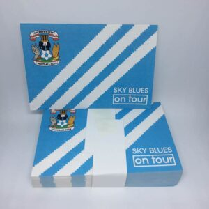 Sky Blues On Tour: Coventry City FC Stickers