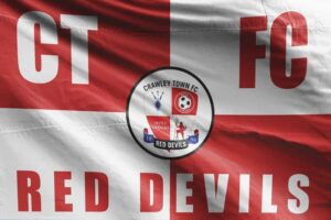 CTFC Red Devils: Crawley Town FC Flag
