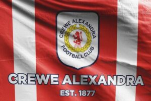 Crewe Alexandra FC Flag: Est. 1877