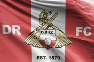 DRFC: Doncaster Rovers FC Flag