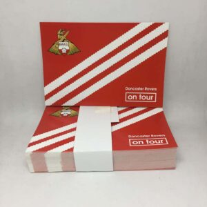 Doncaster on Tour Three Stripes: Doncaster Rovers FC Stickers