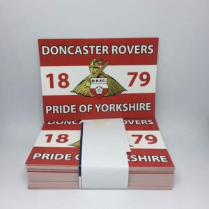 Pride of Yorkshire: Doncaster Rovers FC Stickers
