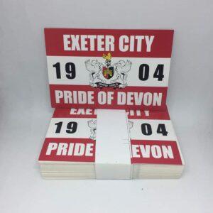 Pride of Devon: Exeter City FC Stickers