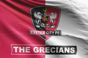 The Grecians: Exeter City FC Flag