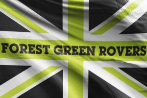 Forest Green Rovers FC Union Jack Flag