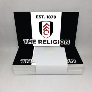 The Religion EST. 1879: Fulham FC Stickers