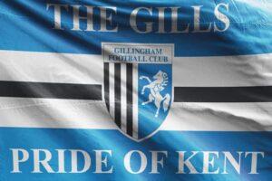 The Gills Pride of Kent: Gillingham FC Flag