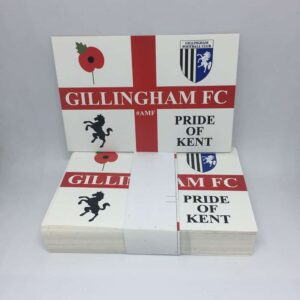 Pride of Kent: Gillingham FC Stickers